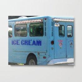 We All Scream for Ice Cream Metal Print
