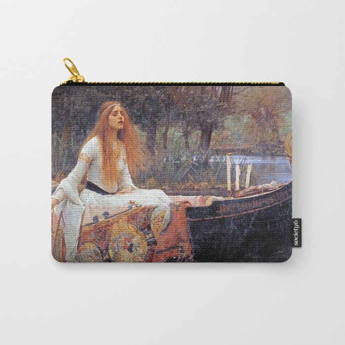 THE LADY OF SHALLOT - WATERHOUSE Carry-All Pouch