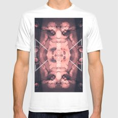 Louvre Mens Fitted Tee White MEDIUM