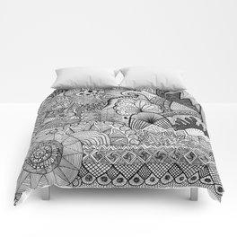 Doodle 3 Comforters