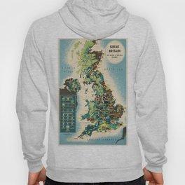 Vintage poster - Great Britain Hoody