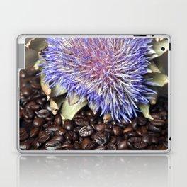 Fresh Coffee Beans & Blue Artichoke Laptop & iPad Skin