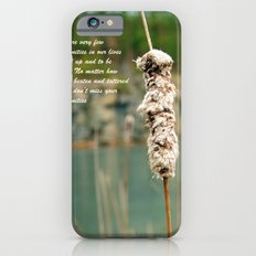 Inspiration of a cattail iPhone 6s Slim Case