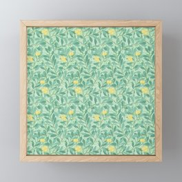 "William Morris ""Arbutus"" 3. Framed Mini Art Print"