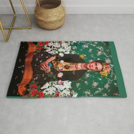 Wings to Fly Frida Kahlo Rug