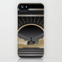 Art deco design V iPhone Case