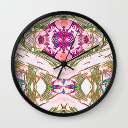 Statuesque Cells Wall Clock