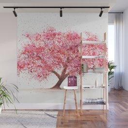 Tardis Tree Art Blossom Wall Mural