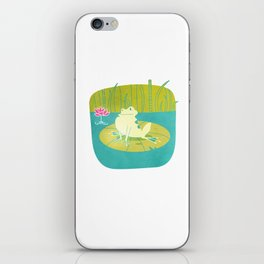 The Frog Who Would Be as Big as an Ox iPhone Skin