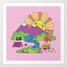 My Happy Place Art Print