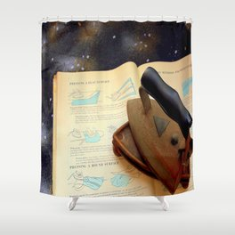 Gone To Press Shower Curtain