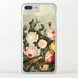 Pink  Red Floral : New Illustration Of The Sexual System Clear iPhone Case