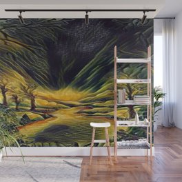 """Golden Road"" Wall Mural"