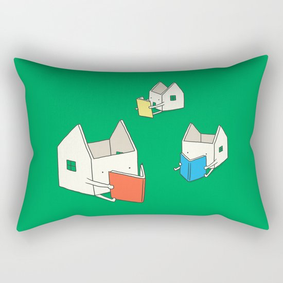 Every house has it's own story Rectangular Pillow