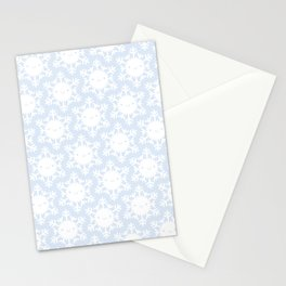 Kawaii Winter Snowflakes Stationery Cards