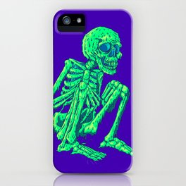 Melty Skelty iPhone Case