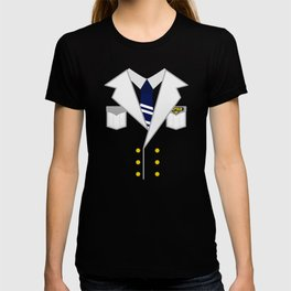 Boat Pontoon Sailing Captain Costume design Gift T-shirt