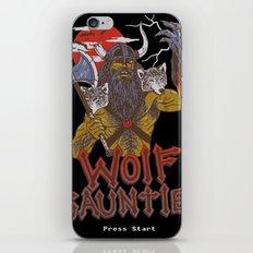 Wolf Gauntlet iPhone Skin