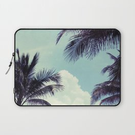 Welcome to Miami Palm Trees Laptop Sleeve
