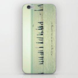 A Fish May Love a Bird... iPhone Skin