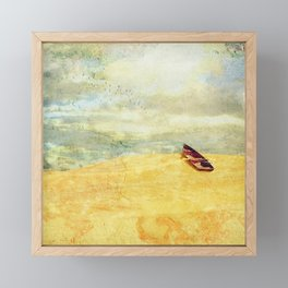 High and Dry Framed Mini Art Print