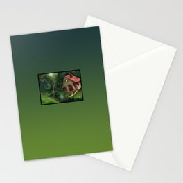 Witch house Stationery Cards