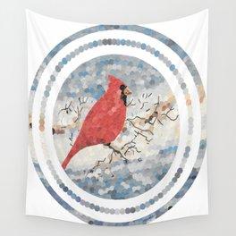 """Cardinal"" Wall Tapestry"