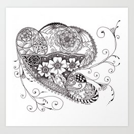 Doodle #4 Art Print