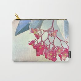 HANGING PINK BEGONIA Carry-All Pouch