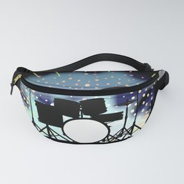 Bright Rock Band Stage Fanny Pack