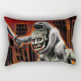 Planet Of The Sloths Rectangular Pillow