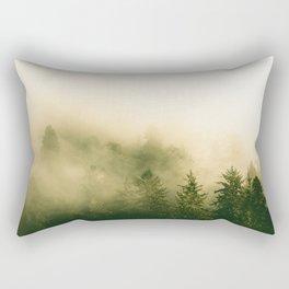 Redwood Rising - Nature Photography Rectangular Pillow