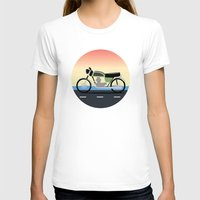 moto T-shirts featuring Moto Cruise by Fred Jonathan