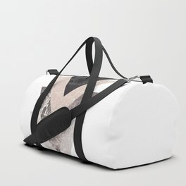 Triangle Shape Modern Print Duffle Bag