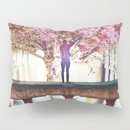 Abandoned Tree in an Abandoned Warehouse Pillow Sham