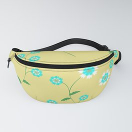 Knapweed, centaury, centory flowers Fanny Pack