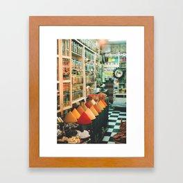 The Spice Market Framed Art Print