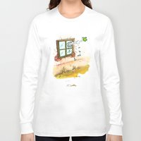 apple Long Sleeve T-shirts featuring Apple! by Pepan