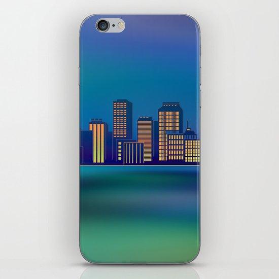 Seaside Cityscape iPhone & iPod Skin