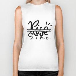 RISE Underground Zine - Logo Biker Tank