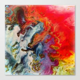 Abstract fire Canvas Print