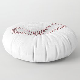 Baseball Lace Background Floor Pillow
