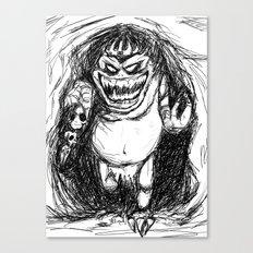 King Gambler  Canvas Print
