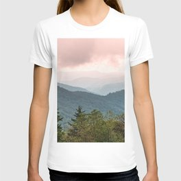 Great Smoky Mountain National Park Sunset Layers III - Nature Photography T-shirt