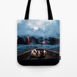 Unsafe Waters Tote Bag