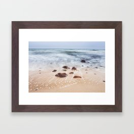 By the Shore - Landscape and Nature Photography Framed Art Print
