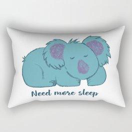 Need more sleep Rectangular Pillow