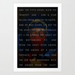 The Fifth Trumpet   3•3 Art Print