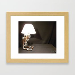 Articulated Desk Lamps - Copper and Chrome Collection - FredPereiraStudios_Page_08 Framed Art Print