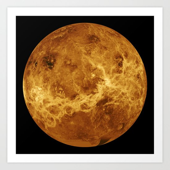 Venus close up Art Print